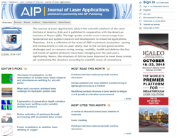 Journal of Laser Applications